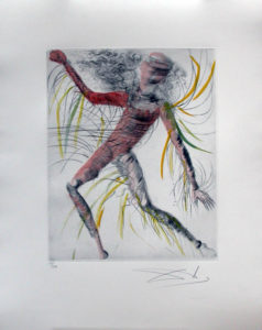 Salvador Dali - Hippies - The Cosmonaut, The Cosmonaute