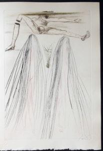 Salvador Dali - Tristan et Iseult - The giant Beliagogc