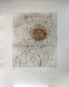 Salvador Dali - Hippies - The Sun, Le soliel