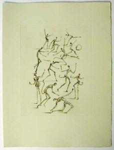 Salvador Dali - Poemes de Mao-tse-toung - The Demons