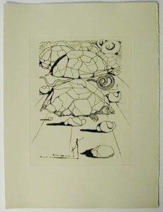 Salvador Dali - Poemes de Mao-tse-toung - The turtle