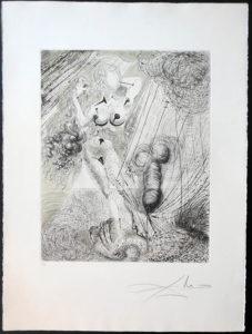 Salvador Dali - The Mythology - Aphrodite (Venus)