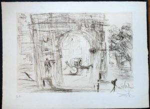Salvador Dali - New York City - Washington Gate