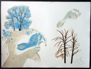 Salvador Dali - The Seasons, Les Saisons - Winter