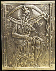 Salvador Dali - Moise et Monotheisme - Bas relief cover stamped