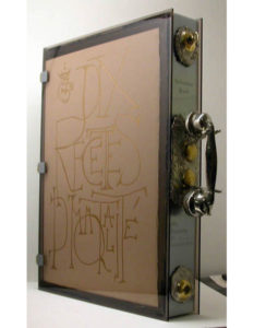 Salvador Dali - Dix Recettes d'Immortalite - Amazing Portfolio Box with Telephone