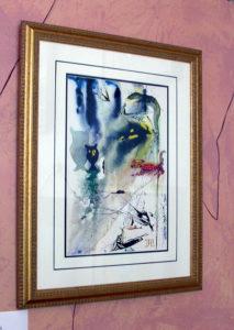 Salvador Dali - Alice in Wonderland - Typical Framing
