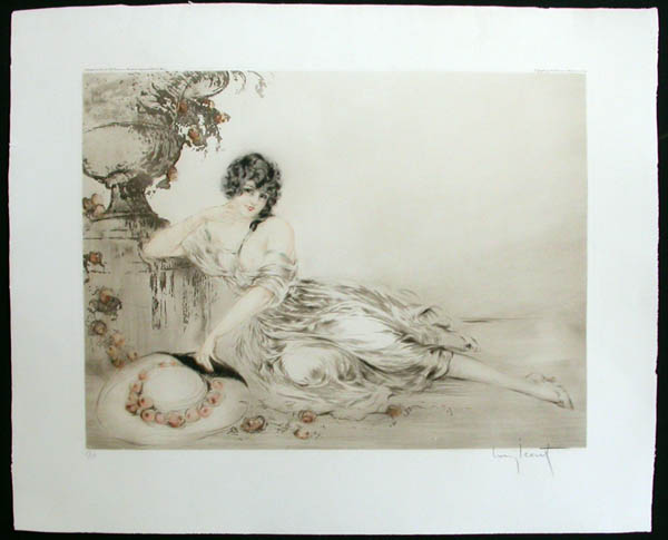 Louis Icart At the Urn