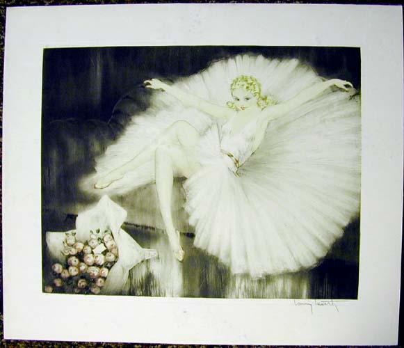Louis Icart Ballerina