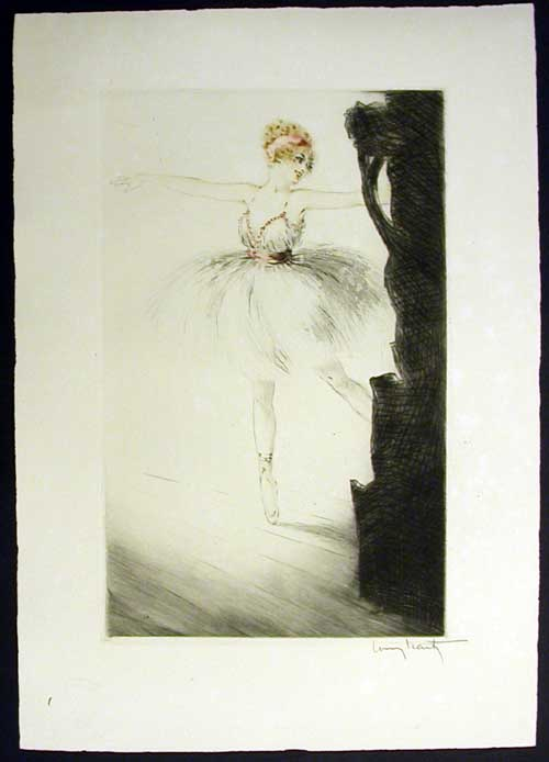 Louis Icart Ballerina on Point