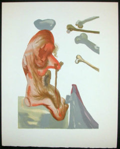 Salvador Dali - Divine Comedy Decomposition -