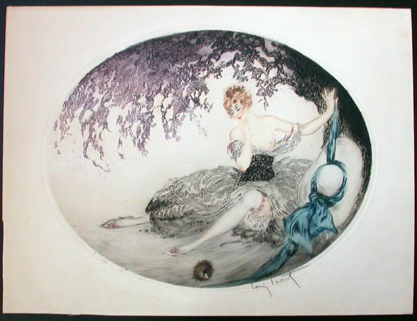 Louis Icart Fallen Nest