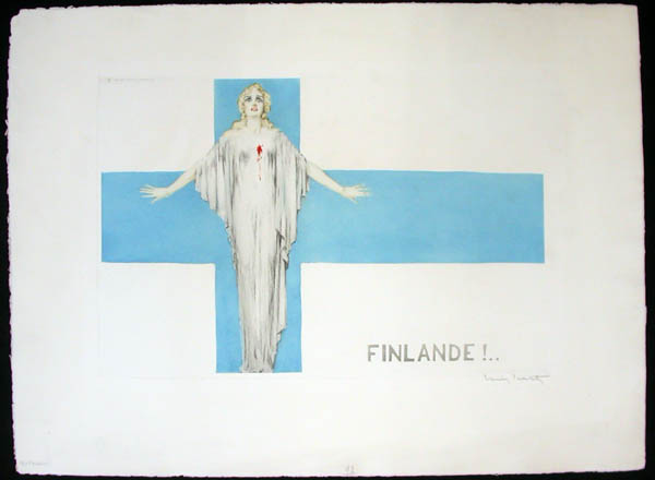 Louis Icart Finlande!