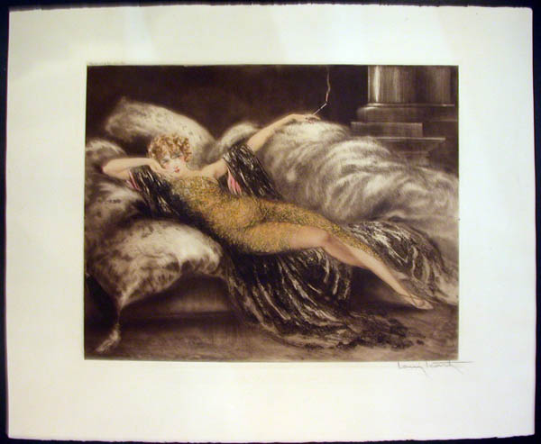 Louis Icart Golden Veil