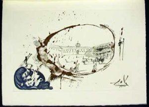 Salvador Dali - La Vida es Sueno, Life is a Dream - Vision of Paradise