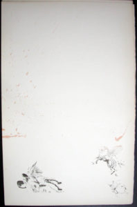 Salvador Dali - Don Quichotte de la Mancha, Book A - 1957 - Attaque des moulins Attack on the Windmills - #2