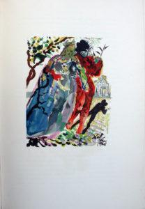 Salvador Dali - L'Art de Aimer – Ovide - M