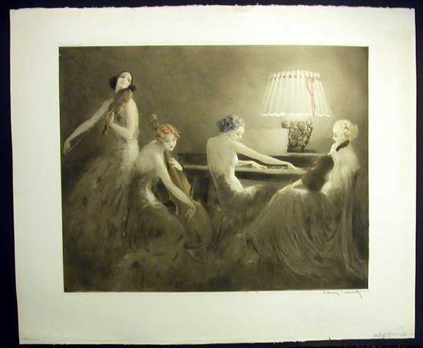 Louis Icart Melody Hour