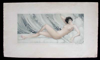 Louis Icart Place Pink Slippers