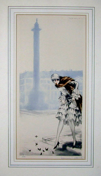 Louis Icart Place Vendome