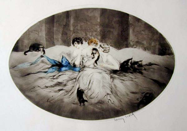 Louis Icart Small Screen