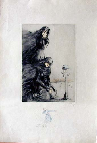 Louis Icart Those Who Cry