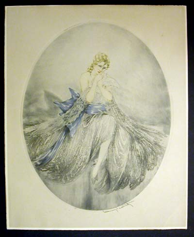 Louis Icart Wounded Dove
