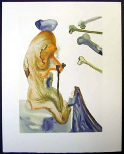 Salvador Dali - Divine Comedy - The Flatterer