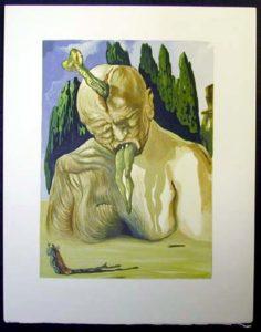 Salvador Dali - Divine Comedy - The Logician Devil