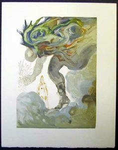 Salvador Dali - Divine Comedy - The Prophecy of Vanni Fucci