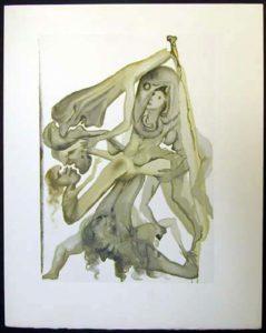 Salvador Dali - Divine Comedy - News of the The Limbos