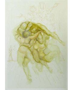 Salvador Dali - Divine Comedy - The Irascible