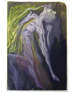 Salvador Dali - Divine Comedy - The Furies