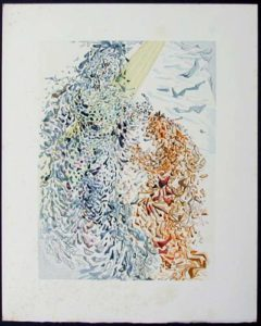 Salvador Dali - Divine Comedy - The Dust of Souls