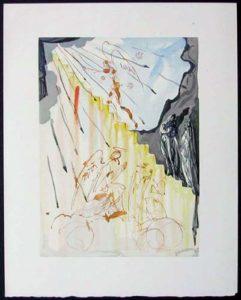 Salvador Dali - Divine Comedy - The Celestial Staircase