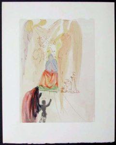 Salvador Dali - Divine Comedy - The Garden of Christ