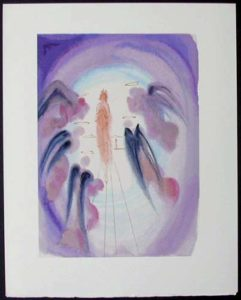 Salvador Dali - Divine Comedy - The Joy of the Blessed