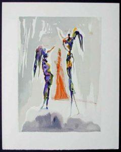 Salvador Dali - Divine Comedy - The Angels of the Empyrean