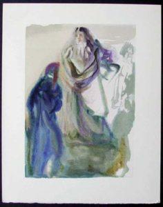 Salvador Dali - Divine Comedy - St. Peter and Dante