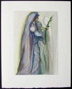 Salvador Dali - Divine Comedy - Preparation for the Final Prayer