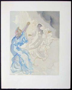 Salvador Dali - Divine Comedy - In the Heaven of Mercury