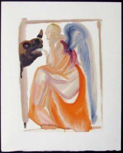 Salvador Dali - Divine Comedy - Church and Empire
