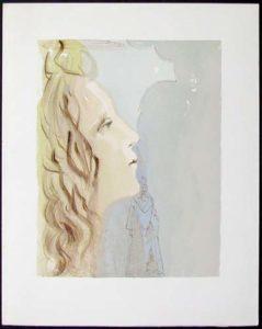 Salvador Dali - Divine Comedy - The Ascent to Venus