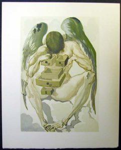 Salvador Dali - Divine Comedy - The reign of the Penitents