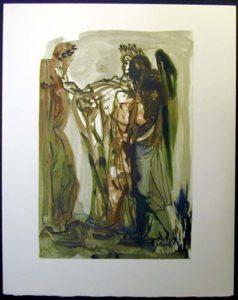 Salvador Dali - Divine Comedy - The Proud One