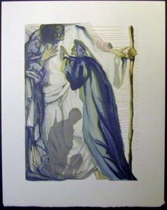 Salvador Dali - Divine Comedy - The Blind for Envy