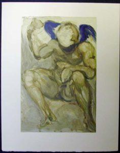 Salvador Dali - Divine Comedy - The Angel of Mercy