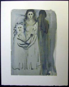 Salvador Dali - Divine Comedy - The Smoke of Irascibility