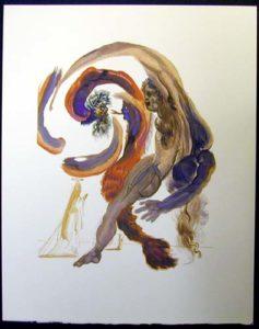 Salvador Dali - Divine Comedy - The Forth Terrace