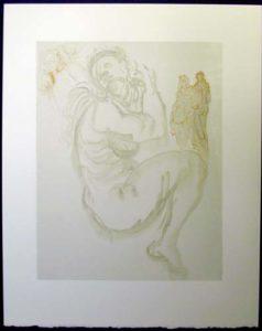 Salvador Dali - Divine Comedy - The Siren of the Dream